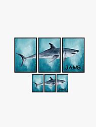 Zvířata Komiks Módní Samolepky na zeď Samolepky na stěnu 3D samolepky na zeď Ozdobné samolepky na zeď,Vinyl Materiál Home dekoraceLepicí