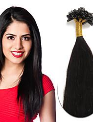 Fusion Chaude / Pré Collées Extensions de cheveux humains Extension des cheveux