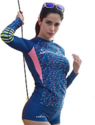 New Ladies Beach Sun Clothes Diving Suits Long Sleeves Are Thin Floating Sweater Anti-UV Surf Clothing