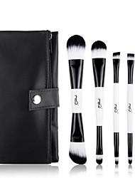 MSQ®5Pcs black-and-white Double-end Makeup Brush Set