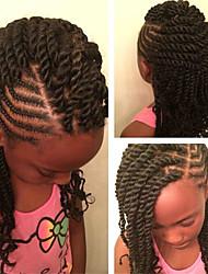 Ombre 1b Senegalese Twist Crochet Braid Hair Synthetic Two Tone Afro Pre-twist Flashy curl Braiding Braid Hair Extension