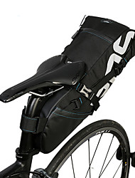 Bolsa de Bicicleta 10LBolsa para Bagageiro de Bicicleta Multifuncional Bolsa de Bicicleta Poliéster Bolsa de Ciclismo