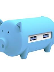 3 Porte Hub USB USB 3.0 Con lettore di schede (s) OTG Data Hub