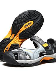 Unisex Sandalen Komfort Leuchtende Sohlen Wildleder Sommer Normal Upstream Schuhe Komfort Leuchtende Sohlen Klettverschluss Flacher Absatz