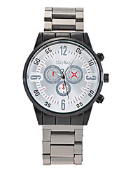 Hombre Reloj de Vestir Reloj de Moda Reloj de Pulsera Reloj creativo único Reloj Casual Chino Cuarzo Aleación BandaEncanto Casual