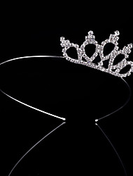 Wedding Bride Crown Vogue Lovely Girls Princess Bridal Crown Crystal Diamond Tiara Hoop Headband Hair Band Kids Accessories