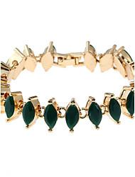Femme Chaînes & Bracelets Charmes pour Bracelets Bracelets de rive Mode Bohême Turc Alliage de métal Résine Forme Géométrique Bijoux Pour