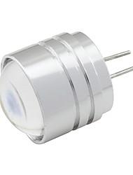 Led Bulb G4 Bulb Spotlight 1W Aluminum with Convex Lens 1 SMD Cob 90 lm Warm White/Cold White DC 12V (1 piece)