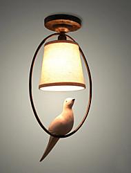 40w подвесной светильник, традиционная / классическая картина для мини-стиля дерева / бамбука комнаты / спальни / столовой / кабинета