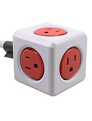 Allocacoc Plug Power US Socket Wireless Smart Home Office Travel Automation PowerCube Module Square Cube
