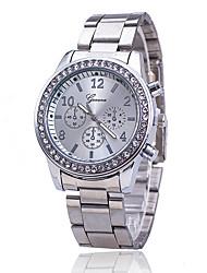 Mujer Reloj de Vestir Reloj de Moda Reloj de Pulsera Reloj creativo único Reloj Casual Simulado Diamante Reloj Chino CuarzoLa imitación