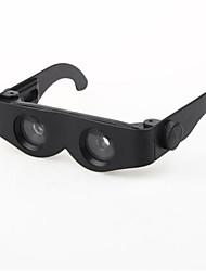 Zoomies mãos livre produto lupa espelho telescópio 400% ampliação binóculos óculos multifuncionais