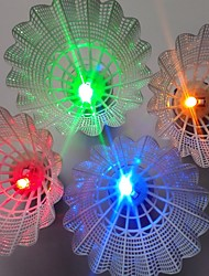 4pcs Legere Sport Badminton LED-Lampen LED Licht LED Licht Leichtes Material für PC