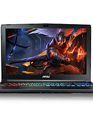 Msi gaming laptop 17.3 polegadas intel i7-7700hq quad core 8gb ram 1tb 128gb ssd windows10 gtx1060 6gb gp72mvr 7rfx-621cn
