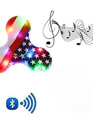 Fidget Spinner Hand Spinner Toys New Hot Wireless Bluetooth Speaker Phone Call Music LED Light Gift