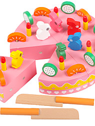 Toy Foods Circular Wooden