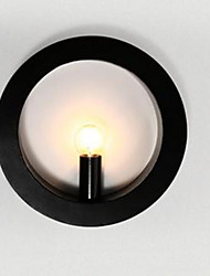 New LED Iron Art Wall Lamp Wholesale Round Living Room Sofa Background Wall Lamp