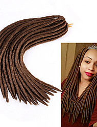 fauxlocs curlkalon crochet braids 14 18inch synthetic braiding haar extensions kanekalon braiding hair 6-8pieces make one head