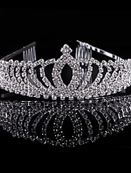 Fashion Children's Hair Hoop Bridal Crown Kid Jewelry Diamond of the Girls Tiaras Wedding Gifts Bride Headwear Accessories Women