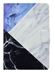 Étui pour ipad pro 10.5 pro 9.7 stitchin marbre motif pu matériel en cuir housse de protection plate pour ipad 2017 ipad air2 air ipad 2 3
