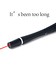 Lt-hja82 puntero láser rojo (5wm, 650nm, 2xaaa, negro)