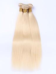 Beata Hair 613 Blonde Brazilian Hair Bundles Straight Remy Human Hair Weave Extension 3Pcs
