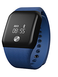 Жен. Смарт-часы Модные часы Цифровой силиконовый Группа Черный Белый Синий Зеленый Фиолетовый
