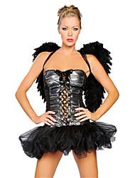 Costumes de Cosplay Bal Masqué Costume de Soirée Ange et Diable Cosplay Fête / Célébration Déguisement d'Halloween Mode Autres Robes Ailes