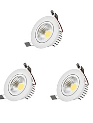 LED a incasso LED Lampadina inclusa 3 pezzi