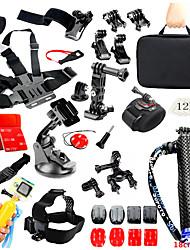 Набор Аксессуары Для Все камеры действия Все Xiaomi Camera SJCAM SJ4000 SJ5000 SJCAM SJ7000Восхождение Мотоспорт Универсальный