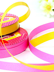 1.2cm largeur 1100cm longueur ballon bandage ruban ruban adhésif cadeau anniversaire décoration de vacances couleur aléatoire