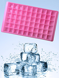 1 pcs 60 Holes Square Ice Mold Plastic Bar Drink Whiskey Sphere 60 Grids Ice Mold DIY Ice Cube Tray Maker