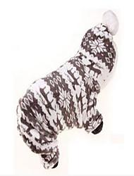 Dog Coat Dog Clothes Party Keep Warm Geometric Blushing Pink Coffee Gray