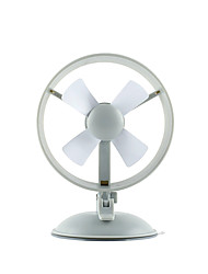Fa So La 240682 Portable Mini Mute ABS Plastic Sucker Type 6 Inch USB Fan