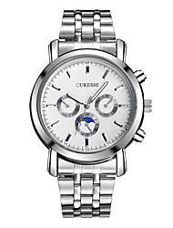 Hombre Reloj de Vestir Reloj de Moda Reloj de Pulsera Reloj creativo único Reloj Casual Simulado Diamante Reloj Chino CuarzoMetal
