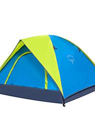 OSEAGLE 3-4 человека Световой тент Туристические палатки Однокомнатная Палатка 1500-2000 мм Нейлон Оксфорд ТафтаВлагонепроницаемый