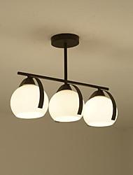 60w pendente luz característica de pintura tradicional / clássica para estilo mini madeira / sala de bambu / quarto / sala de jantar /
