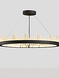 Style contemporain et contractuel restaurant façons antiques lampe à cristaux américains lumière nouvelle personnalité classique de buffet