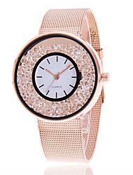 Mujer Reloj de Vestir Reloj de Moda Reloj de Pulsera Reloj creativo único Reloj Casual Reloj de cristal flotante Chino Cuarzo Aleación