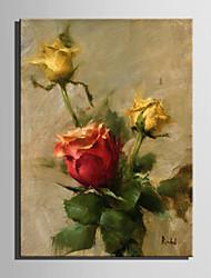 Peint à la main Nu Format Vertical,Moderne Un Panneau Toile Peinture à l'huile Hang-peint For Décoration d'intérieur