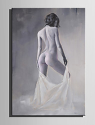 Mini Size E-HOME Oil painting Modern The Human Body Oil Painting Pure Hand Draw Frameless Decorative Painting