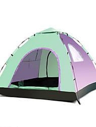 3-4 personnes Tente Unique Tente automatique Une pièce Tente de camping 1000-1500 mm Ruban adhésif argentéGarder au chaud Etanche