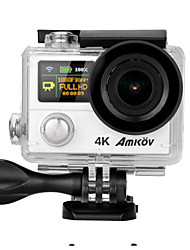 AMK8000S 12MPand 4K 30fps CMOS H.264 Multi-language Single Shot Burst Mode Time-lapse 30m Waterproof