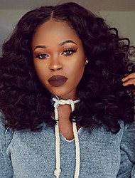 Premier ®Body Wave Elastic Flush Hair Wigs  Glueless Lace Front Wig 100% Brazilian Virgin Human Hair Wigs for Women