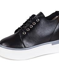 Women's Heels Formal Shoes Comfort PU Fall Casual Party & Evening Dress Walking Formal Shoes Comfort  Wedge Heel Green Black White