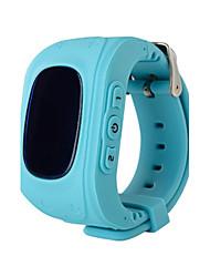 Kid's Smart Watch Digital Rubber Band Blue Green Pink