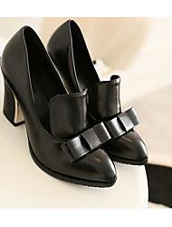 Damen Sandalen Komfort Echtes Leder PU Frühling Normal Weiß Schwarz Rot 2,5 - 4,5 cm