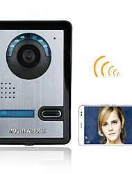 720P Wireless WIFI Video Door Phone Doorbel Intercom System  Night Vision Waterproof Camera with Rain Cover