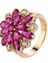 Damen Ringformen Bandringe Ring Kubikzirkonia StrassBasis Einzigartiges Design Strass Freundschaft bezaubernd Kreuz individualisiert Rock