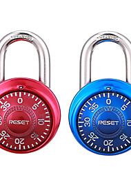 Сброс rst-015 сплав цинка поворотный кодовый замок фитнес-замок ящик блокировки паролей 2 пары блокировки паролей блокировки паролей